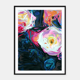Thumbnail image of Flowerella Framed poster, Live Heroes