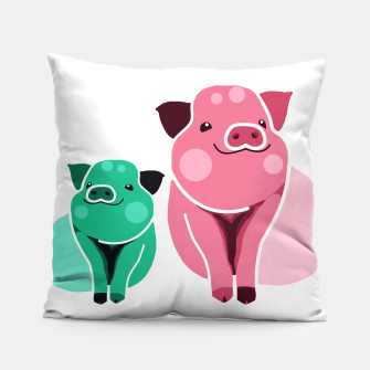 Miniaturka Two Pigs Pillow, Live Heroes