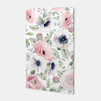 Thumbnail image of FLOWERS WATERCOLOR 29 Canvas, Live Heroes