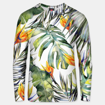 Thumbnail image of TROPICAL GARDEN Unisex sweater, Live Heroes