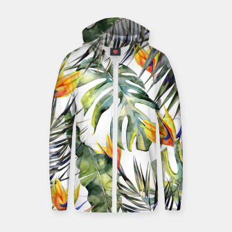 TROPICAL GARDEN Zip up hoodie thumbnail image