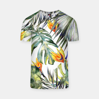Thumbnail image of TROPICAL GARDEN T-shirt, Live Heroes
