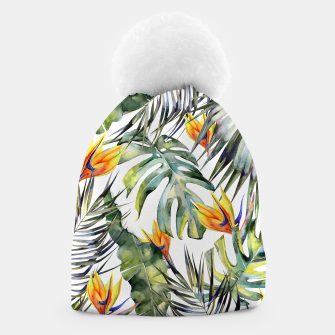 Thumbnail image of TROPICAL GARDEN Beanie, Live Heroes