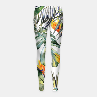 TROPICAL GARDEN Girl's leggings thumbnail image