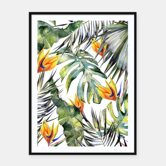 TROPICAL GARDEN Framed poster thumbnail image