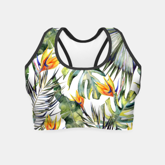 TROPICAL GARDEN Crop Top thumbnail image