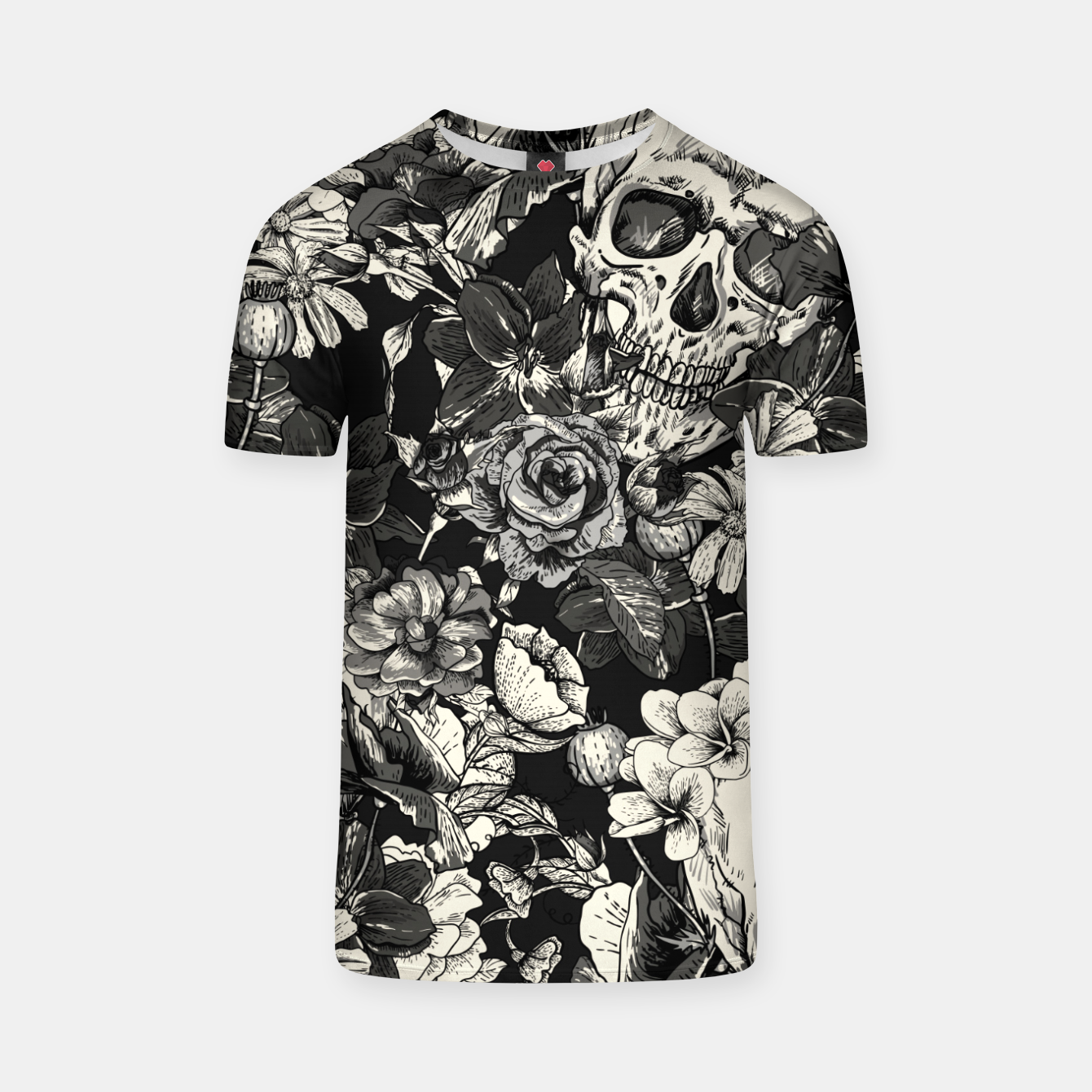 Image of SKULLS T-shirt - Live Heroes