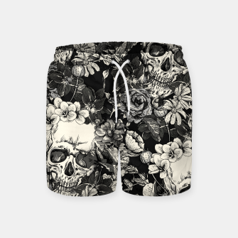 Thumbnail image of SKULLS Swim Shorts, Live Heroes