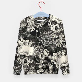 Thumbnail image of SKULLS Kid's sweater, Live Heroes