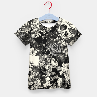 Thumbnail image of SKULLS Kid's t-shirt, Live Heroes