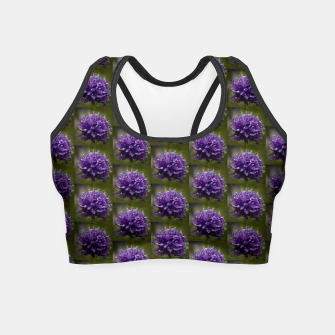 Thumbnail image of Global Gilia Close Up Crop Top, Live Heroes