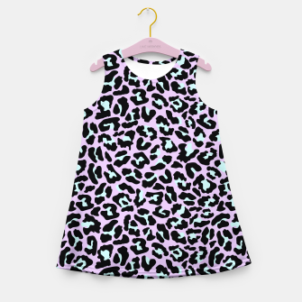 Thumbnail image of Pastel leopard fur III.  Girl's summer dress, Live Heroes