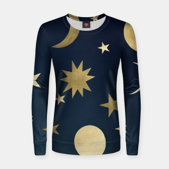 Thumbnail image of Starry Night #1 #decor #art  Frauen sweatshirt, Live Heroes