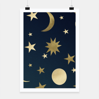 Thumbnail image of Starry Night #1 #decor #art  Plakat, Live Heroes