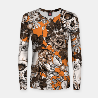 Thumbnail image of SKULLS 2 Women sweater, Live Heroes