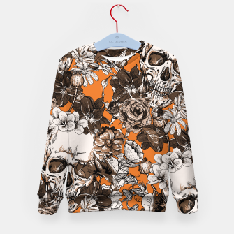 Thumbnail image of SKULLS 2 Kid's sweater, Live Heroes
