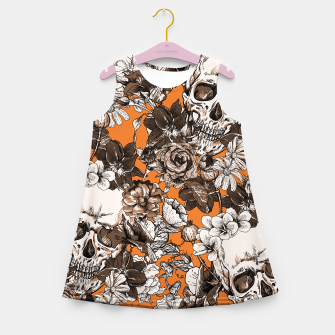 SKULLS 2 Girl's summer dress thumbnail image