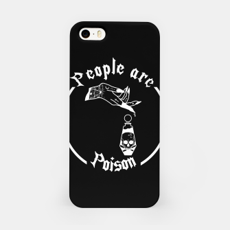 PEOPLE ARE POISON Carcasa por Iphone thumbnail image