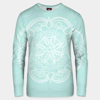 Mint Romantic Mandala #2 #drawing #decor #art Unisex sweatshirt thumbnail image