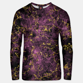 Thumbnail image of GOLD MAGENTA MARBLE Unisex sweater, Live Heroes