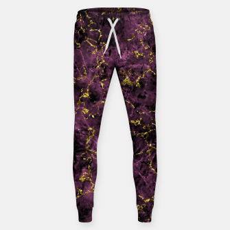 Thumbnail image of GOLD MAGENTA MARBLE Sweatpants, Live Heroes