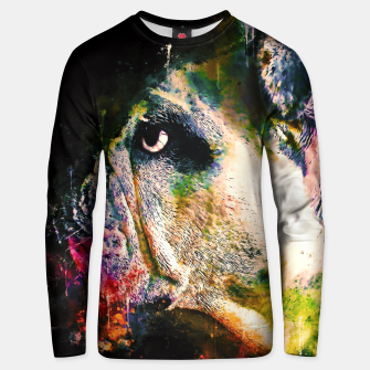 Thumbnail image of gxp english bulldog dog splatter watercolor Unisex sweater, Live Heroes