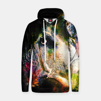 Thumbnail image of gxp english bulldog dog splatter watercolor Hoodie, Live Heroes