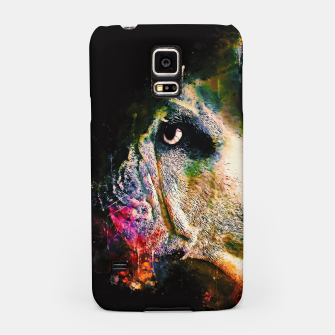 Thumbnail image of gxp english bulldog dog splatter watercolor Samsung Case, Live Heroes