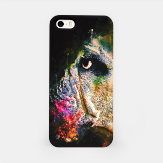 Thumbnail image of gxp english bulldog dog splatter watercolor iPhone Case, Live Heroes
