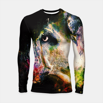Thumbnail image of gxp english bulldog dog splatter watercolor Longsleeve rashguard , Live Heroes