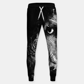 Thumbnail image of gxp english bulldog dog splatter watercolor black white Sweatpants, Live Heroes