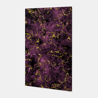 Thumbnail image of GOLD MAGENTA MARBLE Canvas, Live Heroes