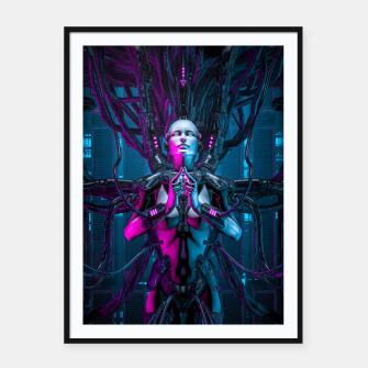 Thumbnail image of The Quantum Zen Queen Framed poster, Live Heroes