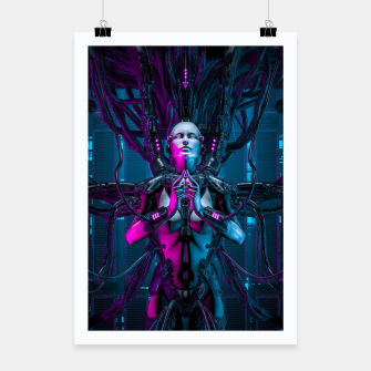 Thumbnail image of The Quantum Zen Queen Poster, Live Heroes