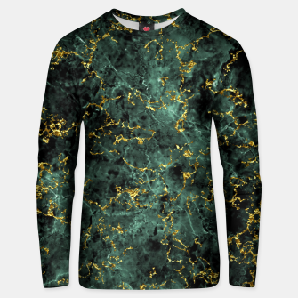 Thumbnail image of GOLD GREEN MARBLE Unisex sweater, Live Heroes