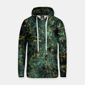 Thumbnail image of GOLD GREEN MARBLE Hoodie, Live Heroes