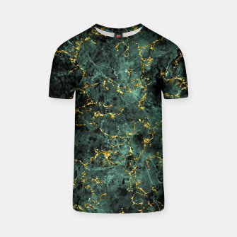 Thumbnail image of GOLD GREEN MARBLE T-shirt, Live Heroes