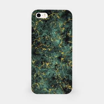 Thumbnail image of GOLD GREEN MARBLE iPhone Case, Live Heroes