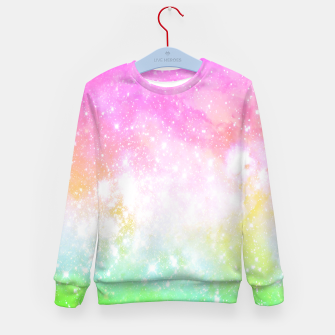 Thumbnail image of Fun Space Kids Sweater, Live Heroes