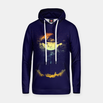 Thumbnail image of moon climbing Hoodie, Live Heroes