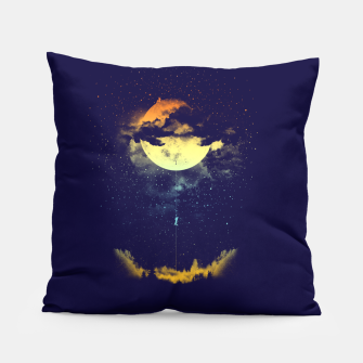 Thumbnail image of moon climbing Pillow, Live Heroes