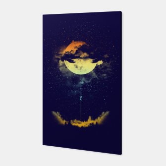 Thumbnail image of moon climbing Canvas, Live Heroes