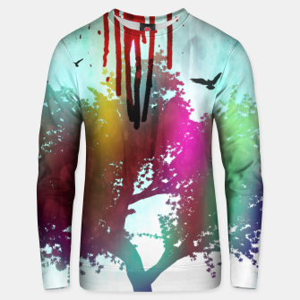 Thumbnail image of new life. Unisex sweater, Live Heroes