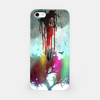 Thumbnail image of new life. iPhone Case, Live Heroes