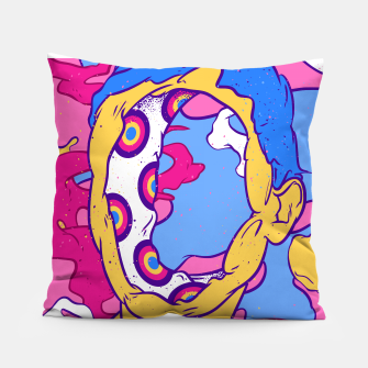 Thumbnail image of Hollow man Pillow, Live Heroes