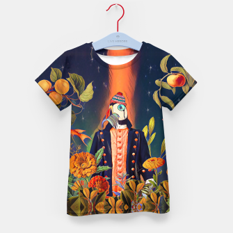 Thumbnail image of Floral Puffin Kid's t-shirt, Live Heroes