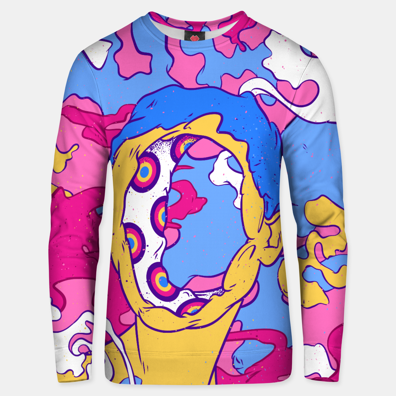 Image of Hollow man Unisex sweater - Live Heroes
