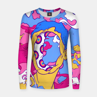 Thumbnail image of Hollow man Women sweater, Live Heroes