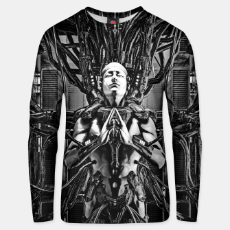 Thumbnail image of Soul of the Machine Unisex sweater, Live Heroes