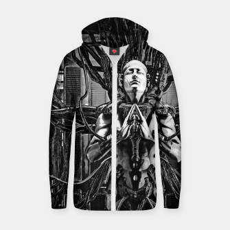 Thumbnail image of Soul of the Machine Zip up hoodie, Live Heroes
